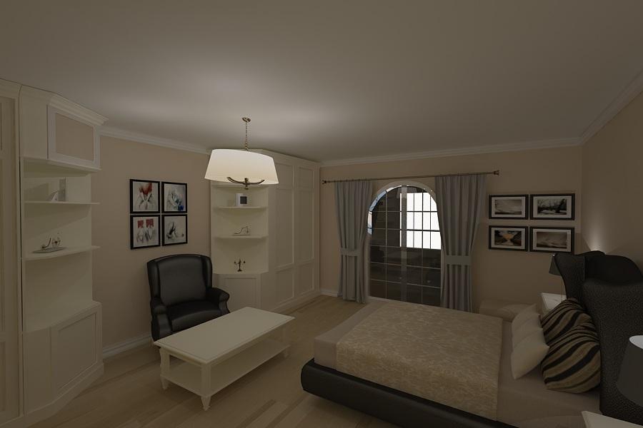 Design interior - dormitor casa - moderna - Constanta