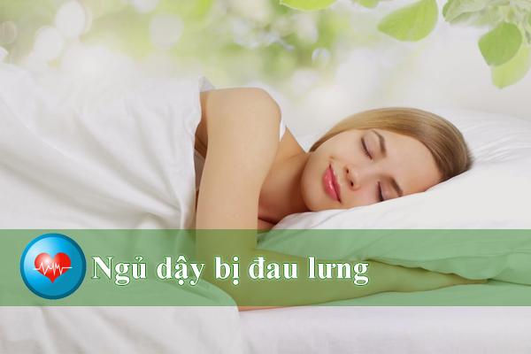Mối nguy hiểm từ bệnh đau lưng sau khi ngủ dậy