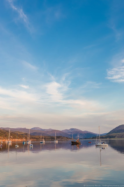 Sunset from Ullapool_by_Laurence Norah