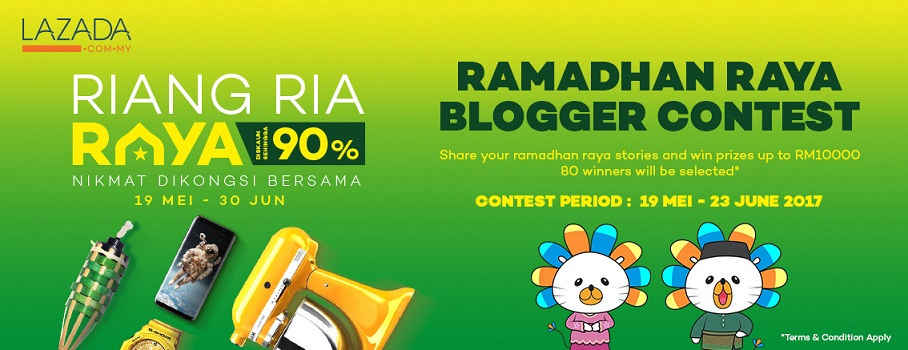 Lazada Ramadhan Raya | Deko raya dengan gantung frame