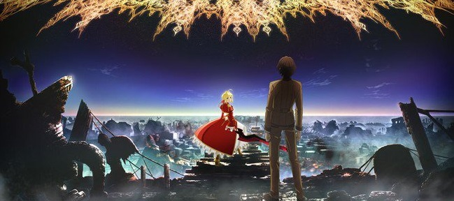 Fate/Extra Last Encore Anime Slated For January 2018.