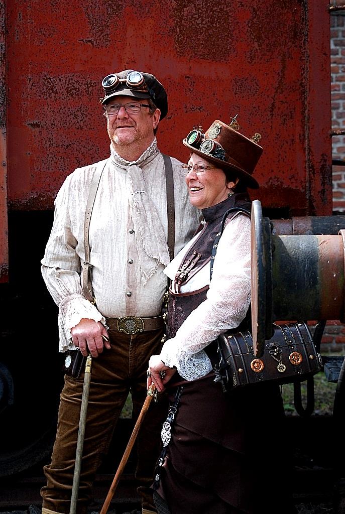 www.zauberhaftwohnen.blogspot.de | Zeche Hannover Bochum | Dampffestival Ruhrgebiet | Steampunk