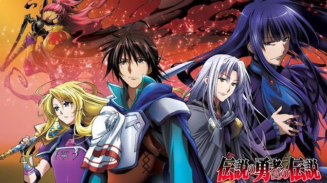 Daftar Film Anime Mirip Fairy Tail - Densetsu no Yuusha no Densetsu