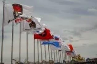 Bendera Parpol - Pemilu 2014 - JPPR #PantauPemilu