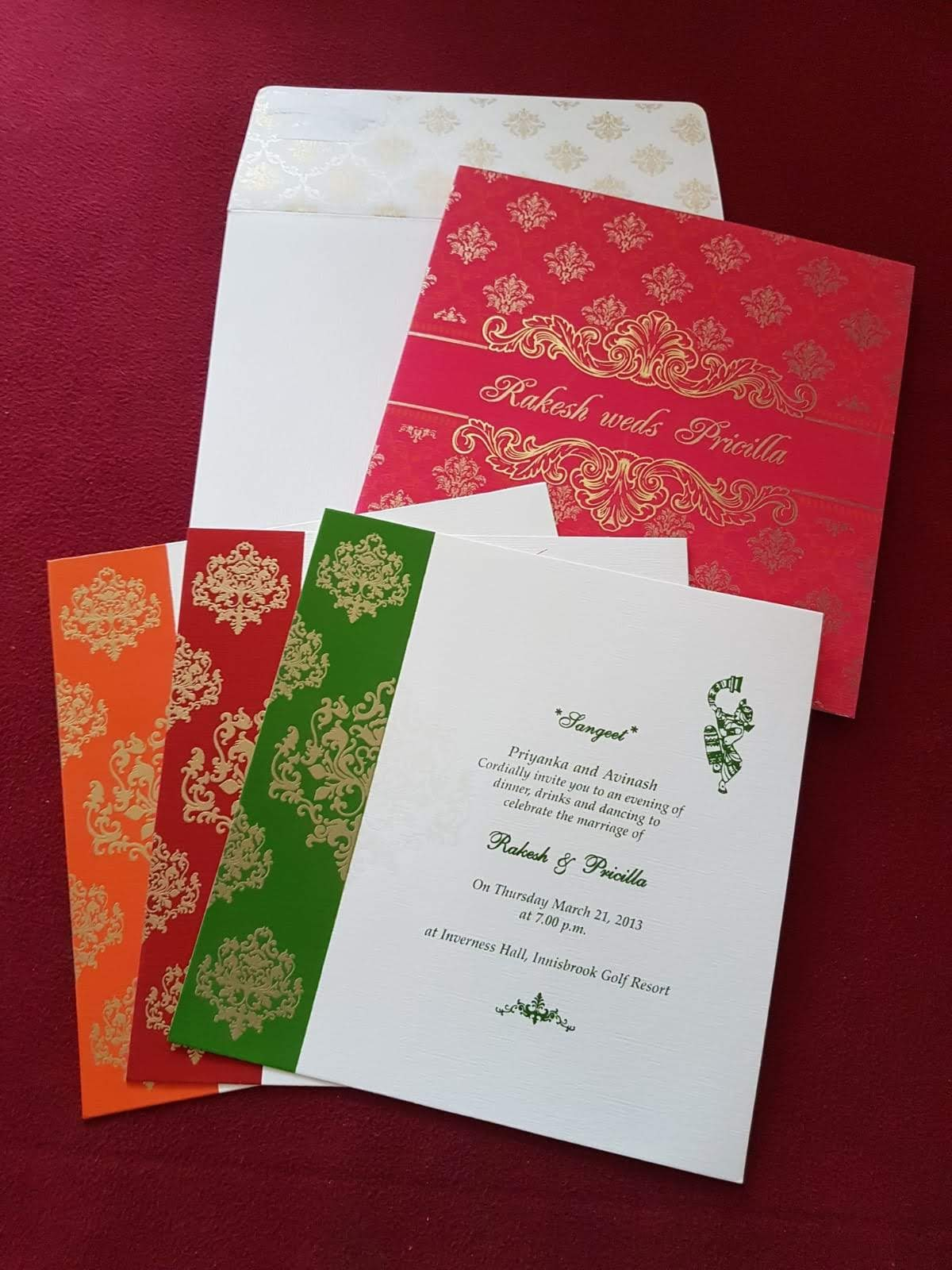 Zem Printers: Wedding Invitations