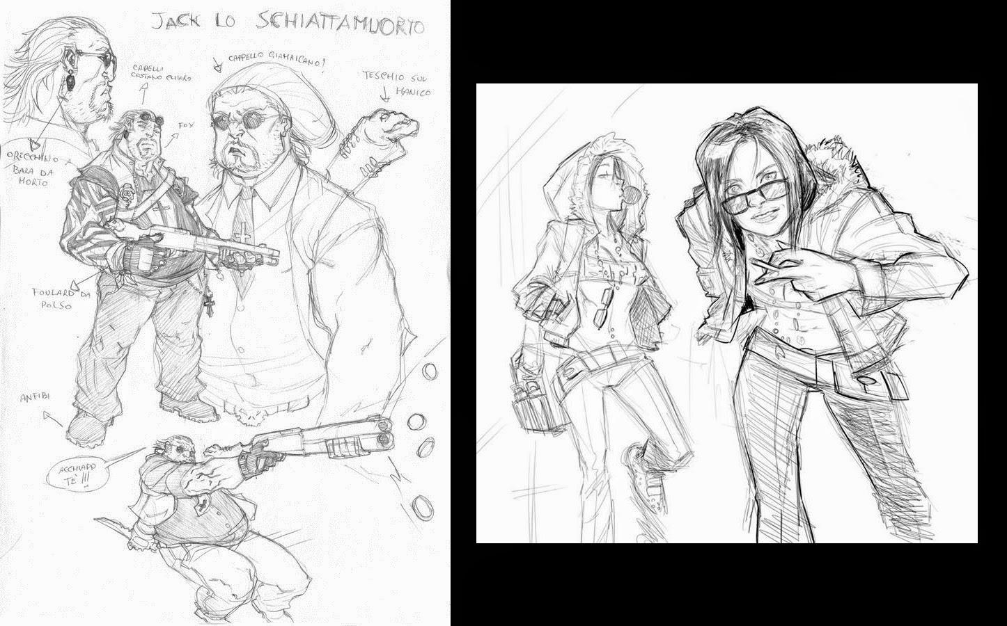 47 - Dead Man Talking, sketch per Jack lo Schiattamuorto e Mariarca