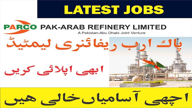 PARCO Pakistan Jobs 2020 Pak Arab Refinery Jobs 2020