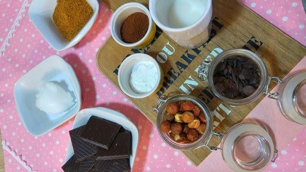 patisserie gateau brownie au chocolat vegan végétalien avec huile de coco, lait végétal, sans oeufs, sans beurre, sans lactose, healthy, sain, gourmandise