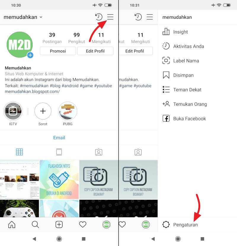 Cara Menyembunyikan Status Online di Instagram Direct Message