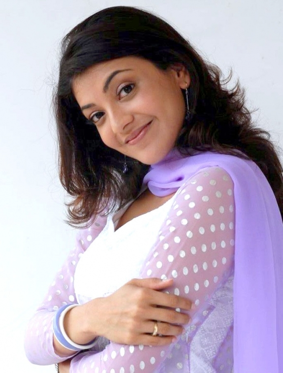 Top 10 Photos Of Kajal Agarwal In White Dress
