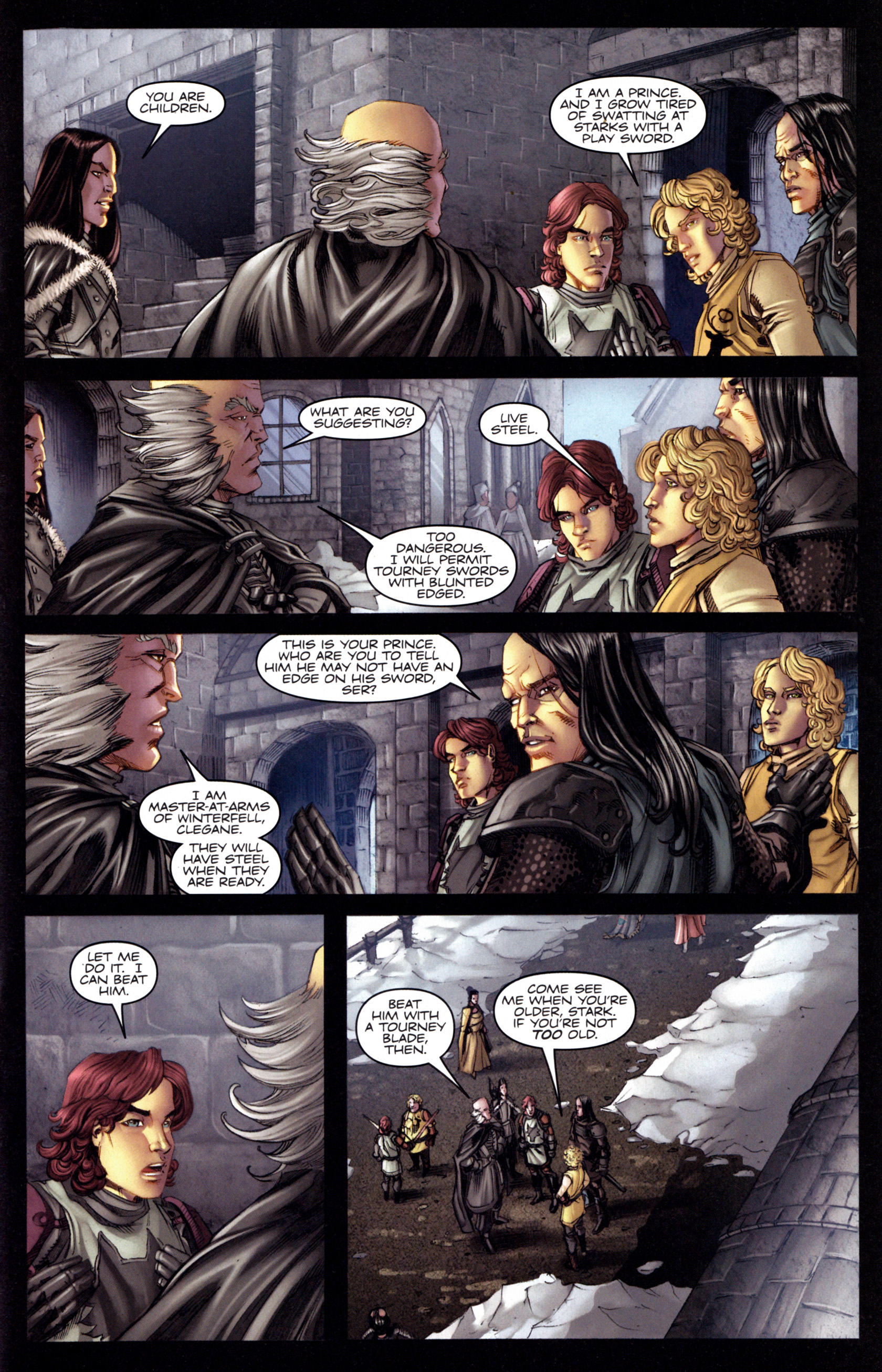 Read online A Game Of Thrones comic -  Issue #3 - 9