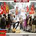 'बापू हम शर्मिंदा हैं, तेरे कातिल जिन्दा हैं': मधेपुरा में जलाया नाथूराम गोडसे का पुतला