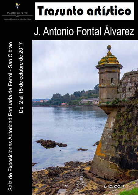 Sala de exposiciones de la Autoridad portuaria de Ferrol – San Cibrao por J. Antonio Fontal Álvarez
