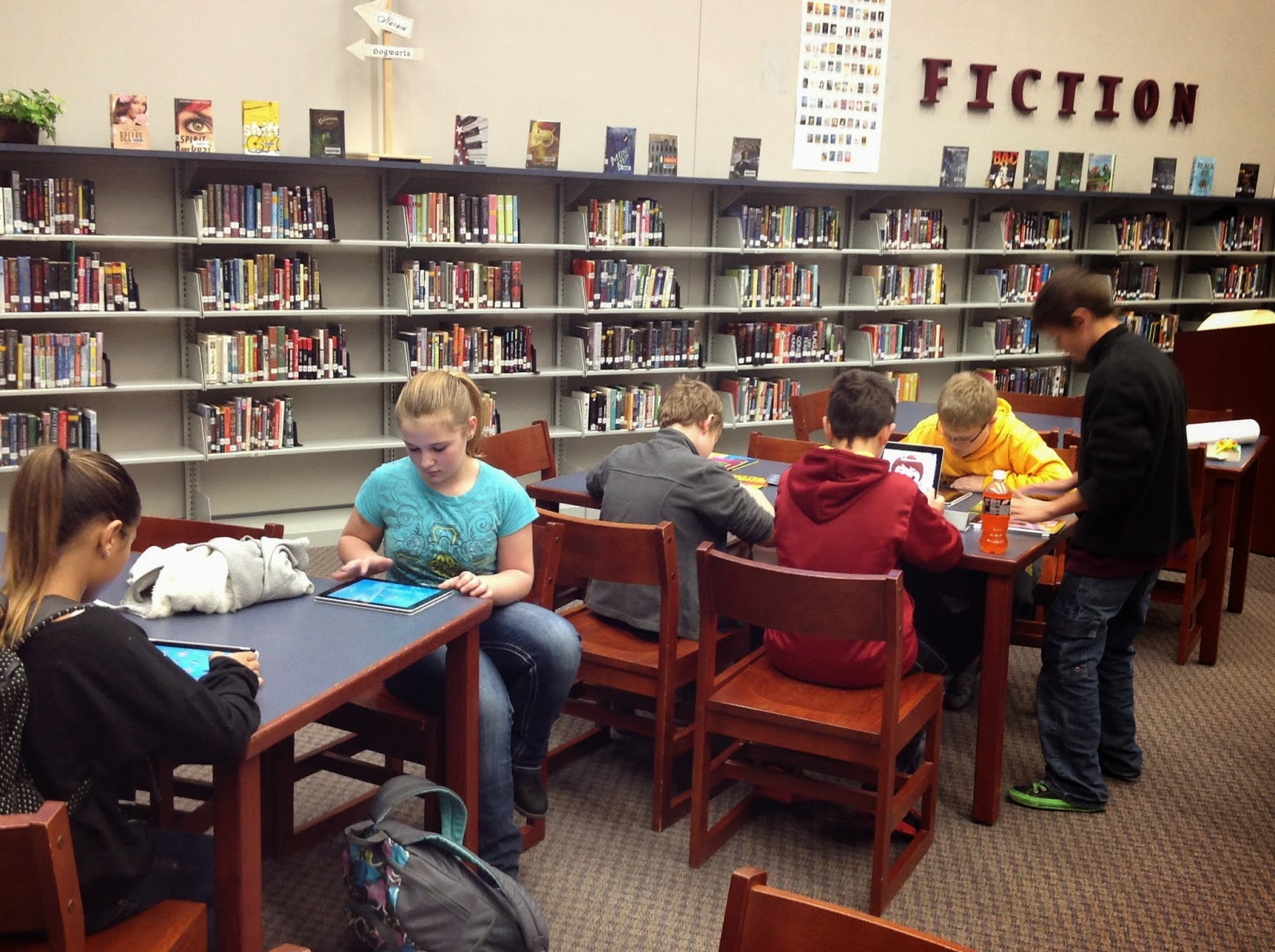 Dcg Middle School Library Library Lab Is Here