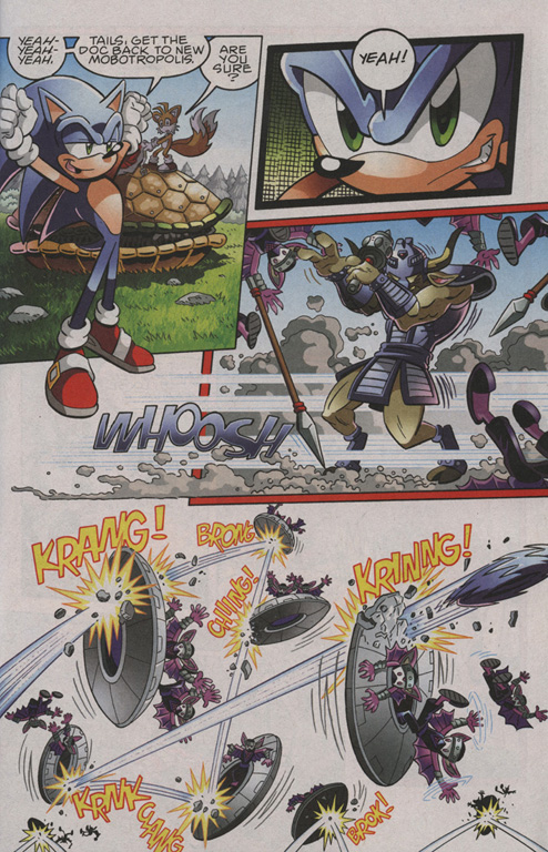 Read online Sonic The Hedgehog comic -  Issue #206 - 4
