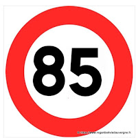 limitation de vitesse à 80 km/h