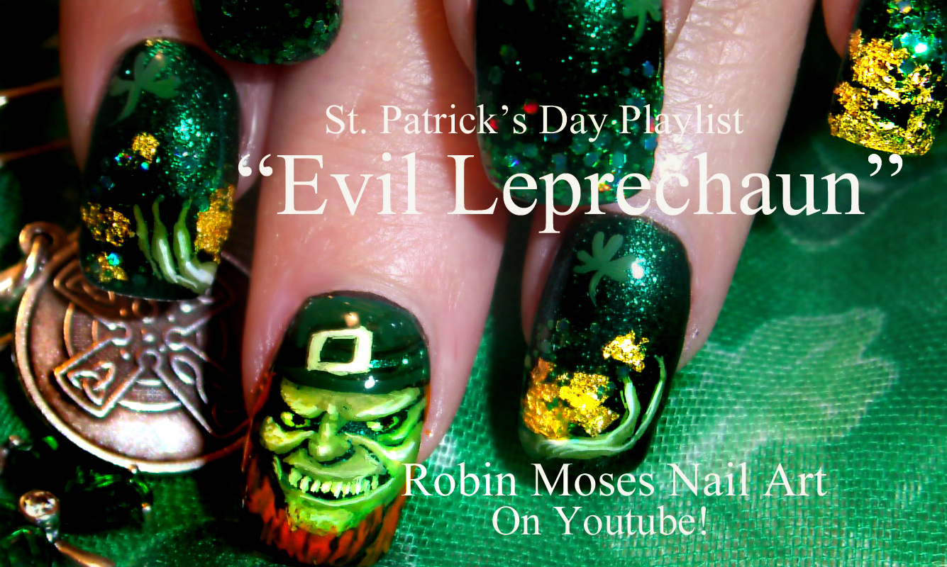 Nail Art by Robin Moses: St. Patrick\'s Day Nail Art 2018 | Best St ...
