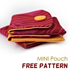 Mini Pouch Free Pattern