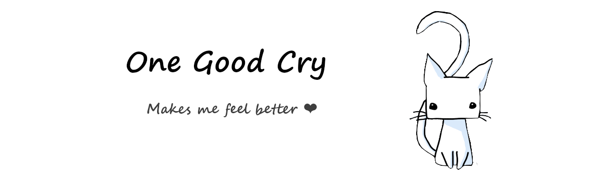 One Good Cry