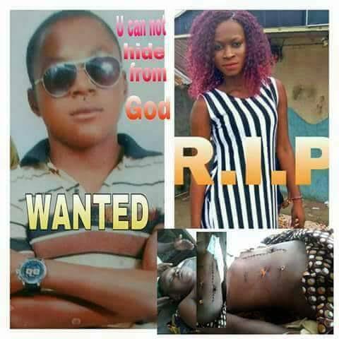 18 years old girl murdered by boyfriend in Yenagoa