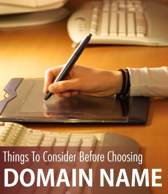 Things To Consider Before Choosing Domain Name