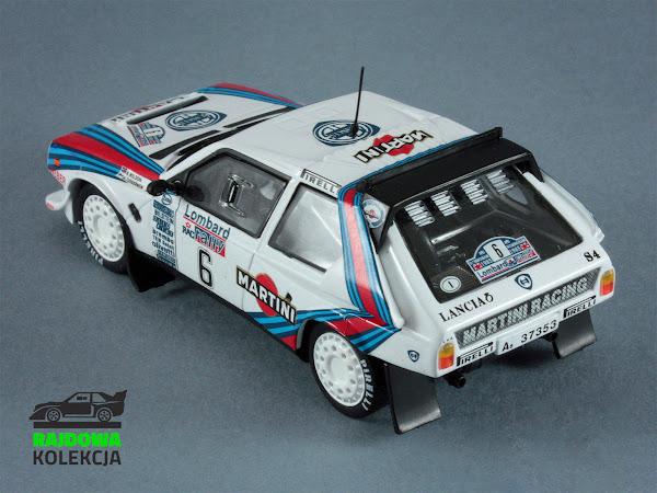 IXO Altaya Lancia Delta S4 Winner Rally RAC Lombard 1985