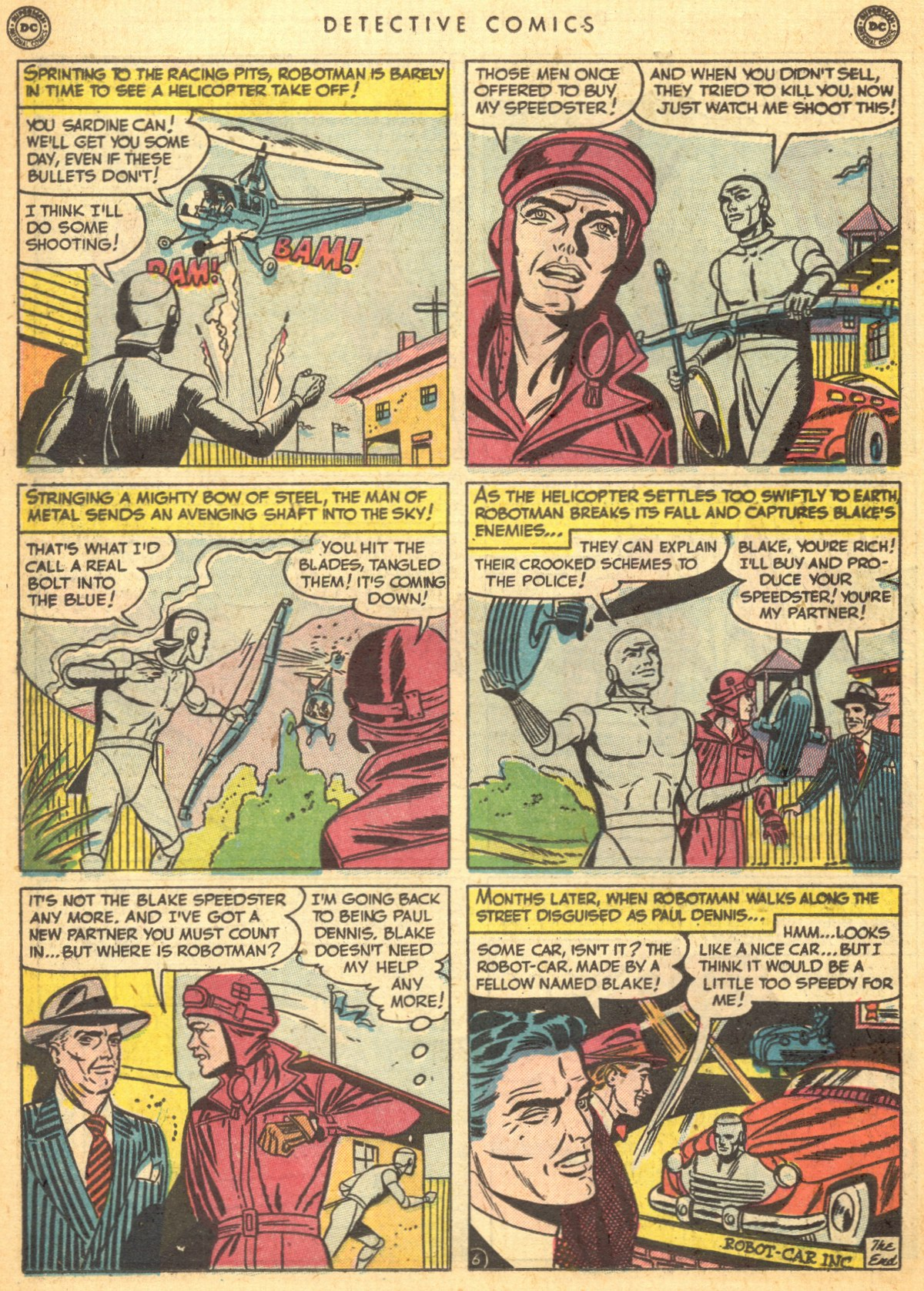 Read online Detective Comics (1937) comic -  Issue #170 - 32