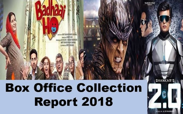 Bollywood Box Office Collection Report and Verdict 2018: Hit or Flop