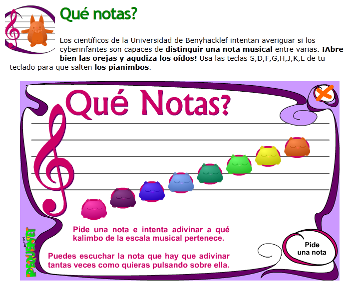 Material De Isaac Para Educacion Especial Notas Musicales