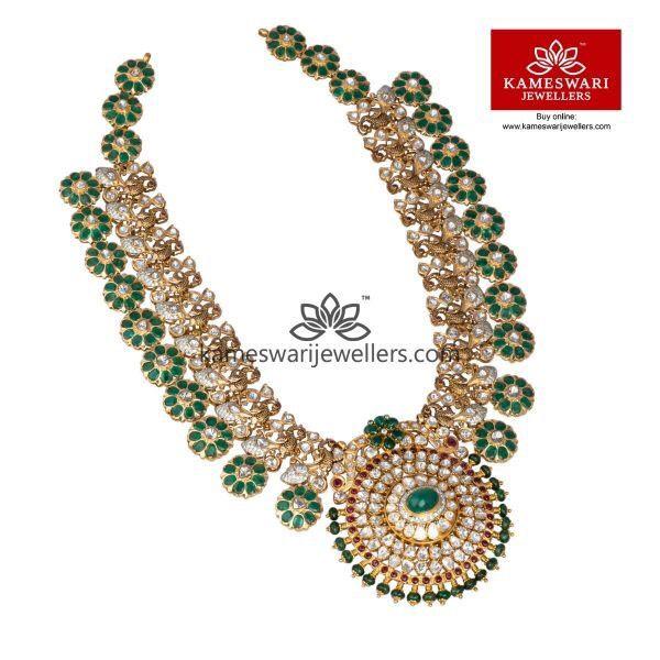 Emerald Kundan Bridal Sets