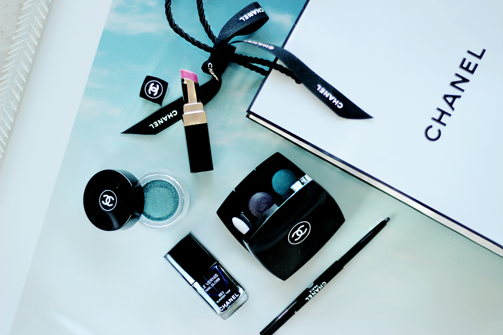 CHANEL Illusion D'Ombre L.A. Sunrise collection aimerose blog beauty review