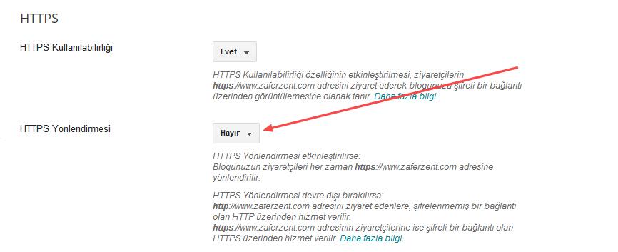 Blogger Özel Alan Adı Yani Domain İçin SSL Sertifikası (HTTPS) Ayarları Nasıl Yapılır? Blogger Domaine SSL Sertifikası Alma;