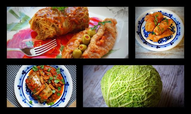 gołąbki z ryżem i mięsem,szybkie gołąbki,symbio,ryż długi brązowy ,zdrowo