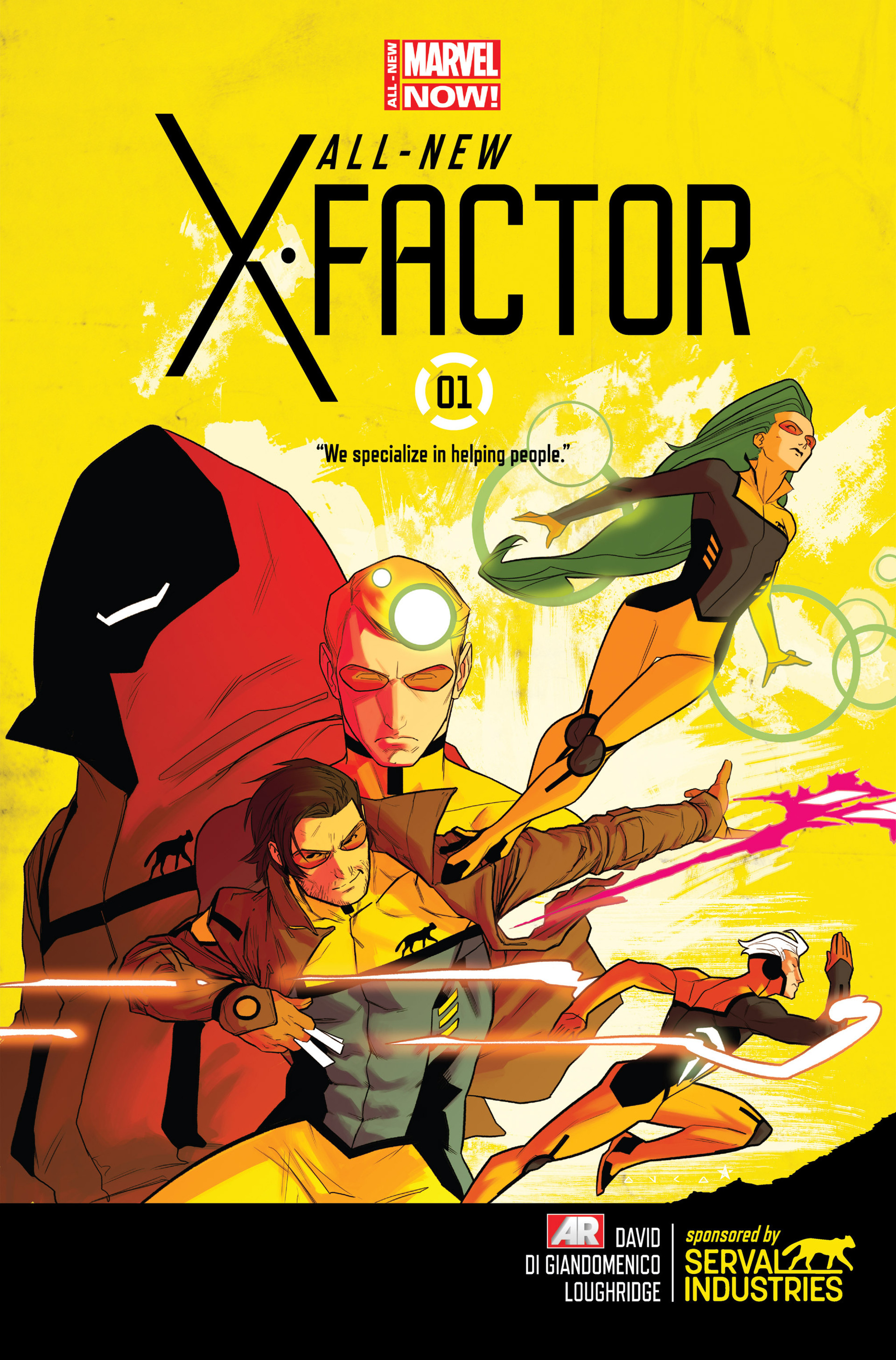 Read online All-New X-Factor comic -  Issue #1 - 1
