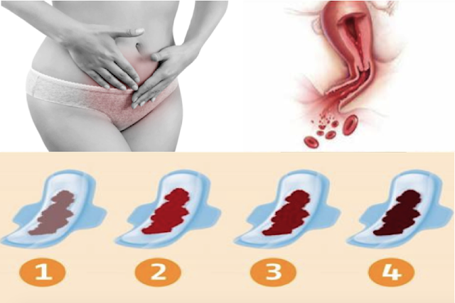 Color Of Your Menstrual Blood Reveals Something Dangerous About Your Health!