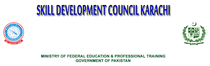 Admissions Open in Skill Development Council - Karachi