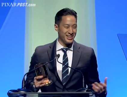 Daniel Chong Toy Story of Terror Annie Award Speech - Pixar Post