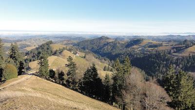 Ahorn, Blick ins Luzerner Hinterland