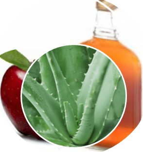 vinaigre, aloe vera, bienfait, naturel, soin, préparation