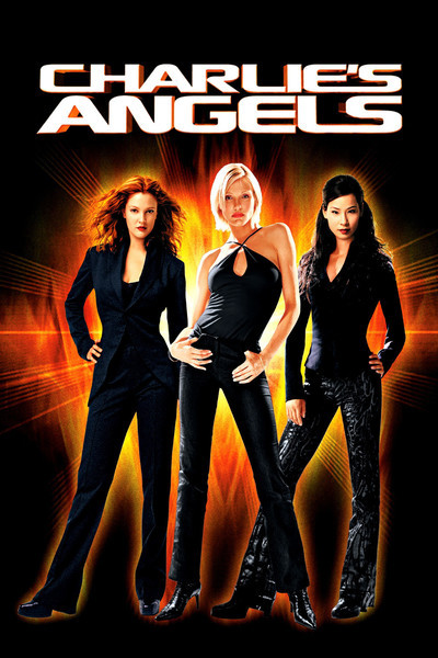 Poster of Charlies Angels 2000 Hindi 720p BRRip Dual Audio Full Movie Download