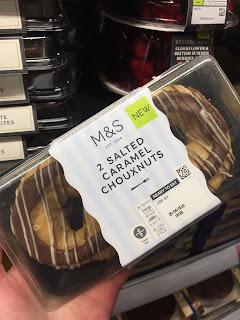 salted caramel chouxnuts
