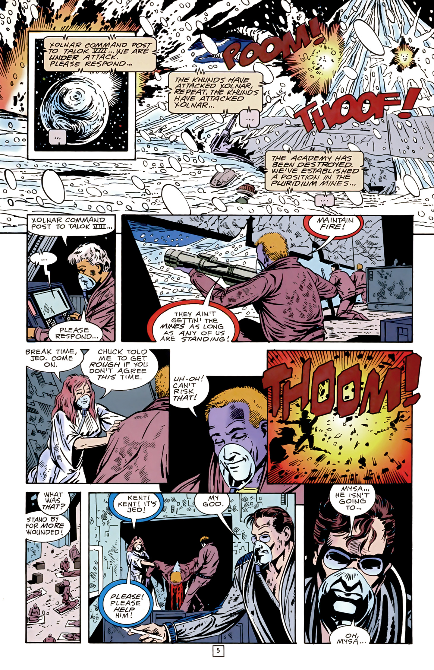 Legion of Super-Heroes (1989) 17 Page 5