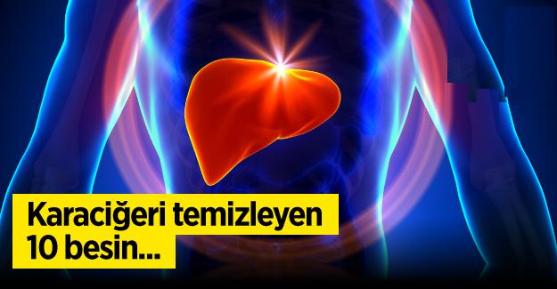 Diyetislerden; Karaciğeri Temizleyen 10 Besin Önerisi