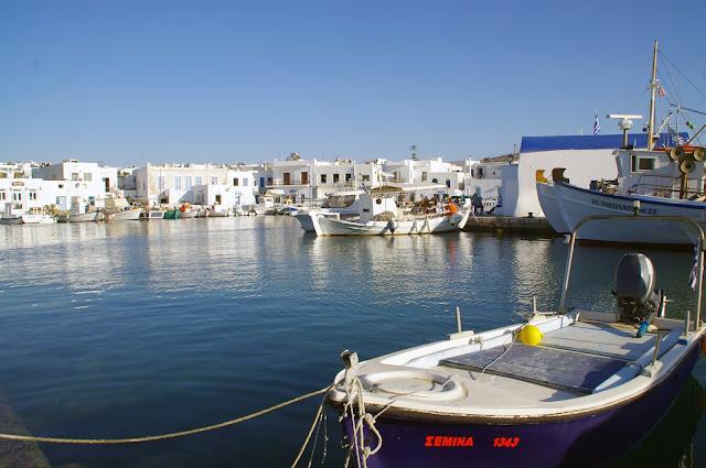 Naoussa Town Paros
