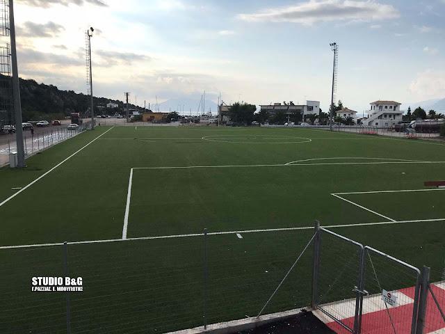 Ι. Μαντζούνης: Κατασκευή νέων κερκίδων στα γήπεδα Ν. Επιδαύρου, Ηλιοκάστρου και Πορτοχελίου
