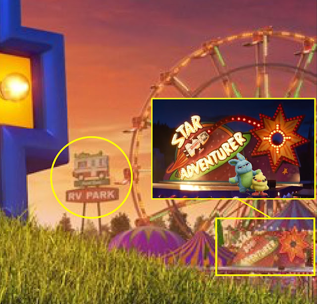 Toy Story 4 RV Park and Star Adventurer Game