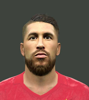 PES 2016 Sergio Ramos Face