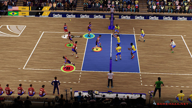 Spike Volleyball Gameplay Screenshot 4