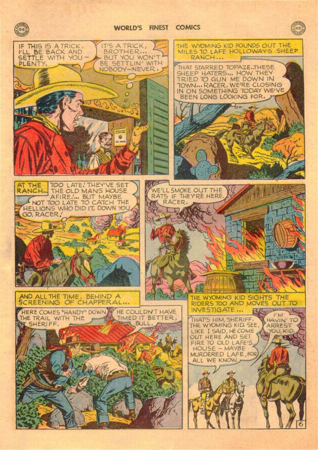 Read online World's Finest Comics comic -  Issue #42 - 42