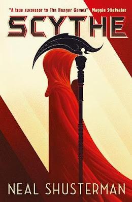 Scythe by Neal Shusterman book cover